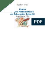 Curso Jogos Matem Ticos Na Educa o Infantil 40747