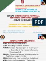 Convergencia NIF´S con IFRS