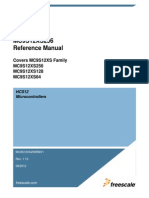 MC9S12XS256RMV1 Reference Manual