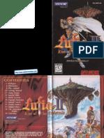 Lufia II Manual SNES