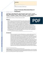 Direct Reprogramming of Lymphocites B
