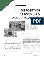 Dispositivos Sensores en Videograbadoras