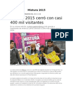 Mistura 2015