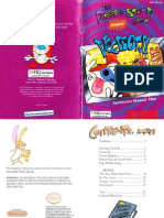The Ren and Stimpy Show Veediots Manual SNES
