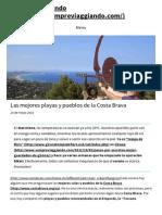 Las Mejores Playas y Pueblos de La Costa Brava _ Sempre Viaggiando