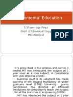 Environmental Education Lect1