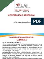 OK-SEMANA 1- Contabilidad Gerencial-La Empresa