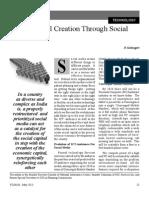 2. Social Capital Creation Through Social