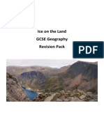 Year 10 Ice on the Land Revision Workbook