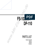 Fs 1028mfp Dp 110 Parts