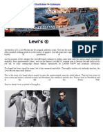 Levis Brand Story Promotions by Fibre2Fashion on Fashion Gear