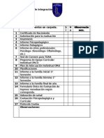 Documentos PIE en Carpeta