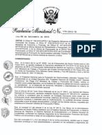 Directiva ministerial