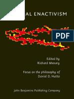 Daniel Hutto Radical Enactivism