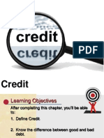 Consumer Education Credit