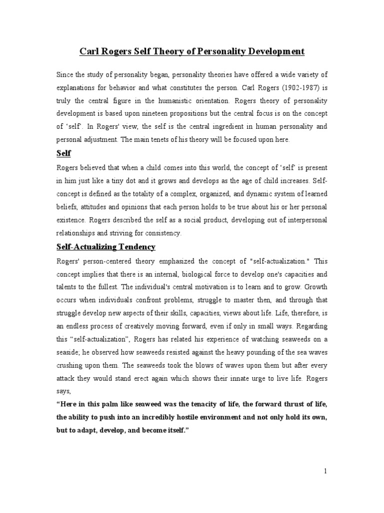 self concept essay essay