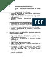Relatii Si Organizatii Internationale