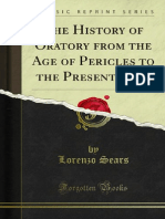 The History of Oratory From the Age of Pericles to the Present Time 1000247078
