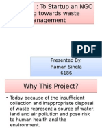 Project Idea on Waste Management