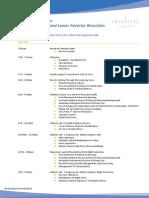 Lakshman Regional Course Agenda
