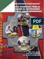 CUATRO PASOS ESENCIALES PARA LA SISTEMATIZACIÓN DE EXPERIENCIAS SOCIOEDUCATIVAS TRANSFORMADORAS