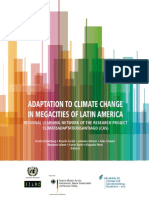 Adaptation to Climate Change in Megacities of Latin America
