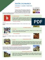 Geografía - Región Cajamarca
