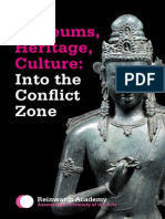 "Kavita Singh on ""Into the Conflict Zone"""