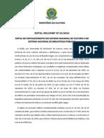 Edital de Fortalecimento Do SNC e Do SNBP 2015