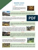 Geografía - Región Cusco