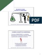 Bilancio di cassa e di competenza