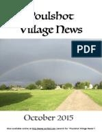 Poulshot Village News  - October 2015