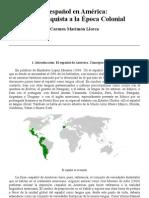 Marimon Llorca - El Español en America de La Conquista a La Epoca Colonial