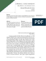Manoel Ricardo de Lima - A Hora Indiferente