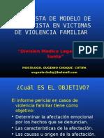 Modelo de Entrevista Forense en Victimas de Violencia Familiar
