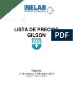 Catalogo Precios  Pipetas