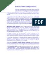 Microsoft E-Postal Solutions and Digital Postmark
