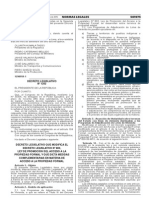 DLeg 1202 que dicta medidas complementarias en materia de acceso a la propiedad formal