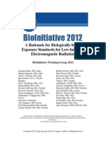 Radiation - 2012 - BioInitiative 2012