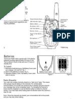 Motorola T5100 & T5200 Two Way Radio User Manual