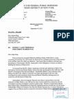 Melissa Adams Filed Affidavit 09-21-2015