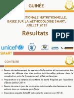 Rapport Enquete Nutrition SMART Guinee 2015