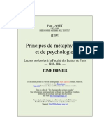 Principes de Metaphysique t1