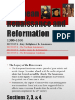 Summary of Renaissance and Reformation