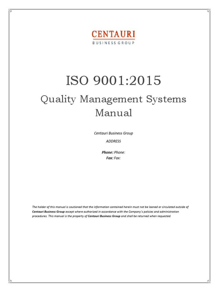 iso 9001 2015 quality manual preview quality management system rh scribd com quality manual iso 9001 quality manual iso 9001 2015 examples