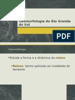 Geomorfolgia Do Rs