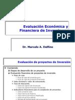 Evaluación Económica y Financiera de Inversiones