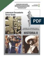 Historia_2 Historia de Mexico Cuaderno