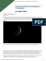 El Eclipse de Una Súper Luna _ Noticias Uruguay y El Mundo Actualizadas - Diario EL PAIS Uruguay