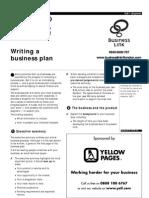 Marketing - Business Plan - Writing a Business Plan - Start Up Factsheet